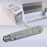 Kit 600w Vdl + Reflector + Ge Lucalox Shp 600w