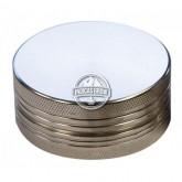 Grinder Aluminio Magn. Cnc Plateado